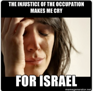 From the Shit Liberal Zionists Say Tumblr