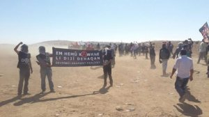 comrades from DAF join the struggle to defend Kobane
